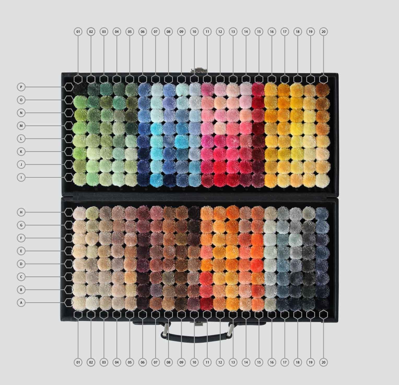 ARS Color Reference viscose 320 shades