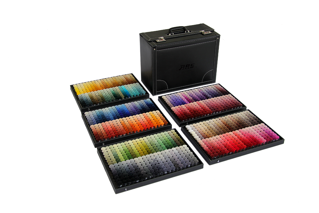 ARS colors wool 1400 shades